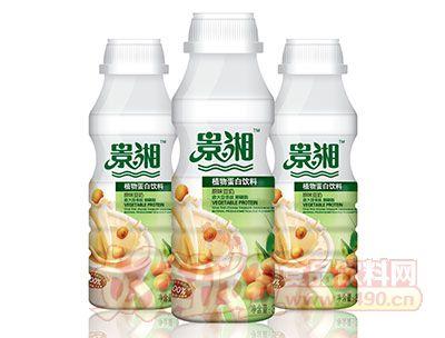 景湘原味豆奶饮料PE瓶350ml