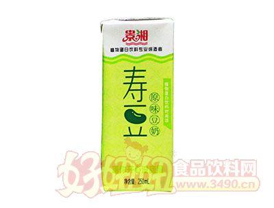 景湘寿豆原味豆奶250ml