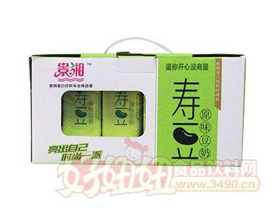 景湘寿豆原味豆奶