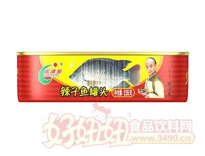 欢乐家155克辣子鱼罐头