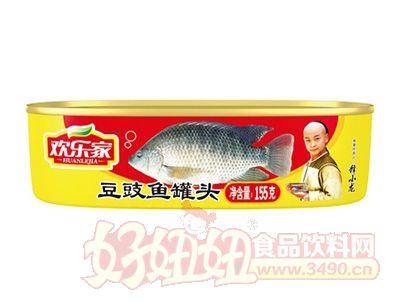 欢乐家155克豆豉鱼罐头