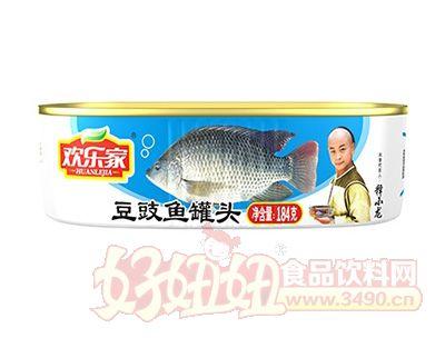 欢乐家184克豆豉鱼罐头
