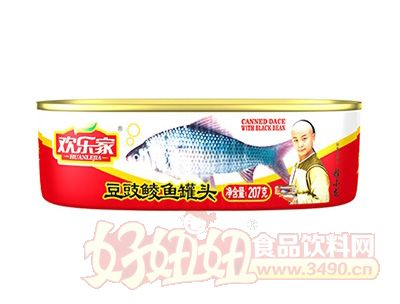 欢乐家207克豆豉鲮鱼罐头