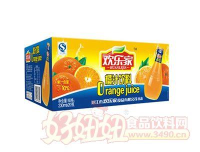 欢乐家230mlx20橙汁
