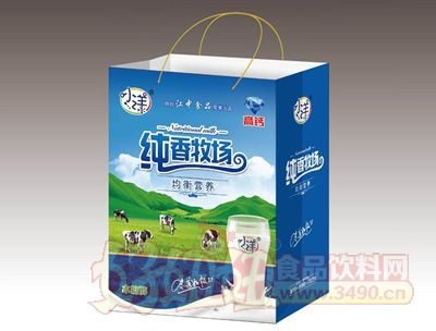 小漾纯香牧场高钙乳饮品礼盒