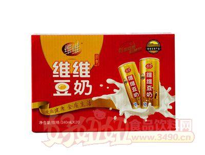 维维豆奶240mlx20瓶