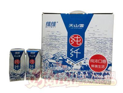 维维天山雪纯纤调制牛奶200g×12
