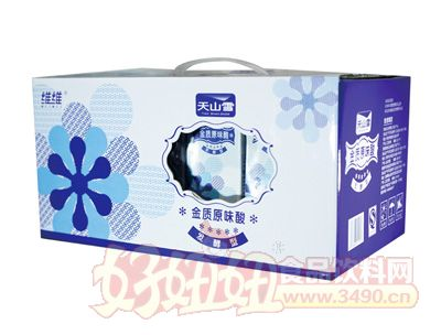 维维天山雪发酵型金质原味酸牛奶
