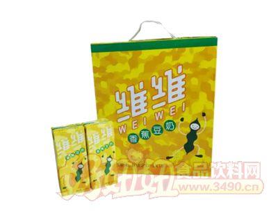 维维香蕉豆奶250ml×18