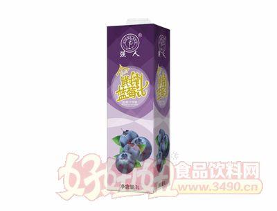 强人泰式鲜榨蓝莓汁1L