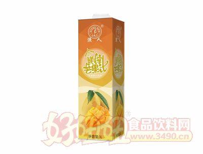 强人泰式鲜榨芒果汁1L