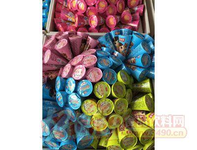 百家赞缤淇淋布丁花型