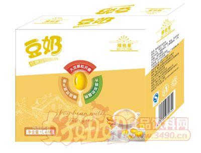 维他星低糖豆奶1L×8瓶