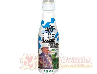 椰钜生榨椰子汁植物蛋白饮料500ml