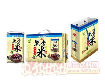 初元食疗木糖醇黑香米八宝粥