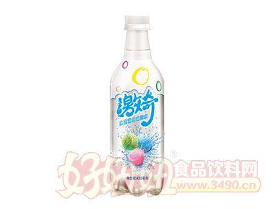 健力��激奇冰淇淋�L味汽水(450ML)