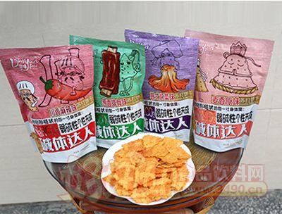 鼎好食品苏打饼干展示