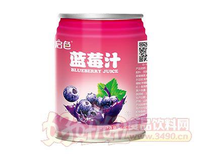 启色蓝莓汁242ml