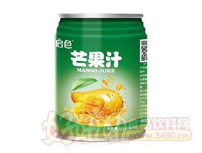 启色芒果汁242ml