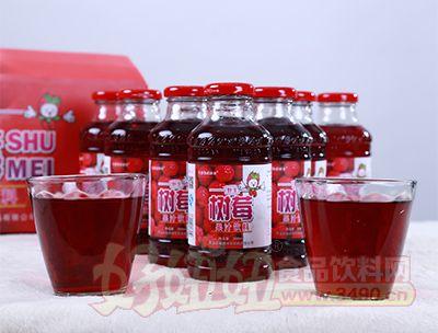 350ml树莓果汁饮料样品