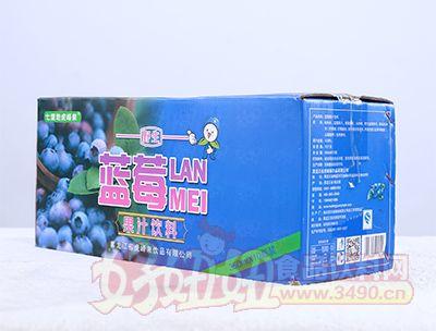 350ml蓝莓果汁饮料箱装
