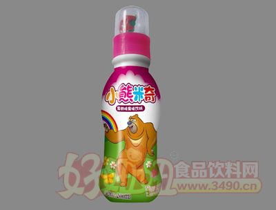 小熊米奇果奶味果味饮料(红)