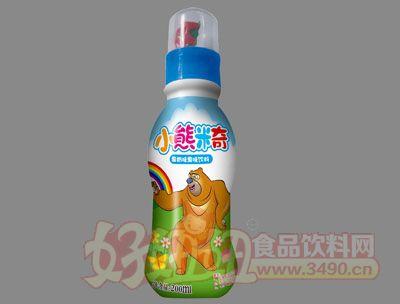 小熊米奇果奶味果味饮料(蓝)