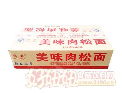 傲龙美味肉松面102g×40袋