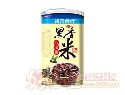 初元食疗黑香米八宝粥罐装