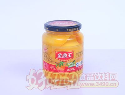 金鼎玉510克黄桃罐头