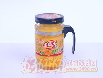 金鼎玉608克黄桃罐头