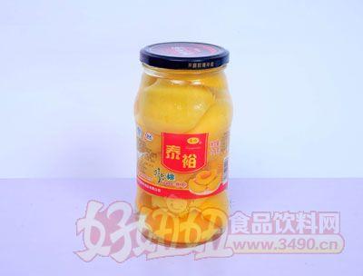 泰裕1000克黄桃罐头
