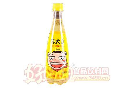 雨露苏大水菠萝椰含气苏打水500ml瓶装