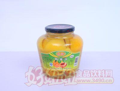 泰裕1200克黄桃罐头