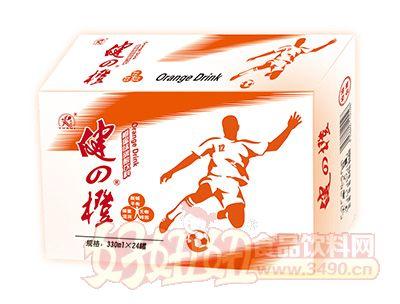 雨瑞健之橙碳酸饮料330mx24罐