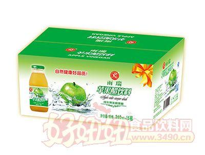 雨瑞纯生物发酵苹果醋饮料260ml×15瓶