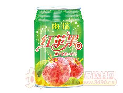 雨瑞红苹果果汁饮料320ml