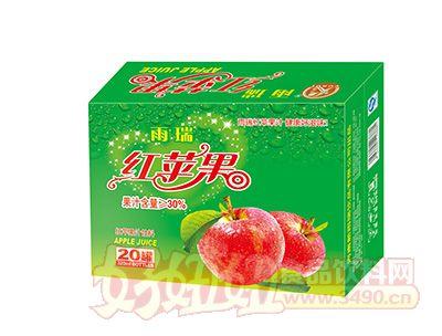 雨瑞红苹果果汁饮料320mlx20罐