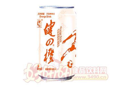 雨瑞健之橙碳酸饮料330ml