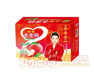 雨瑞水蜜桃果汁饮料320mlx24罐