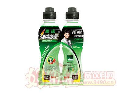 雨瑞维体能量青柠口味维生素运动饮料580ml