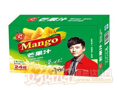 雨瑞芒果汁饮料245ml×24罐