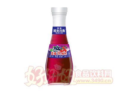 雨瑞维体均衡蓝莓炖枸杞果汁饮料360ml