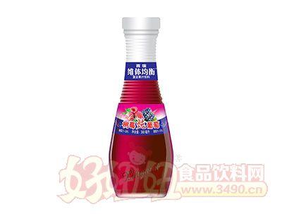 雨瑞维体均衡树莓炖葡萄果汁饮料360ml