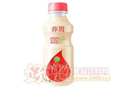 养胃草莓味乳酸菌饮品340ml