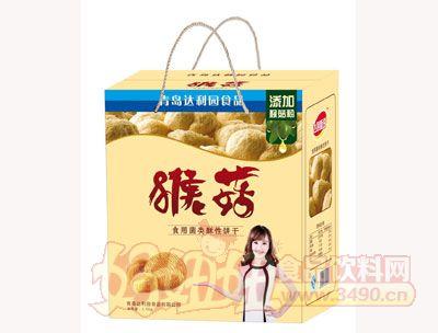 青岛达利园猴菇食用菌酥性饼干