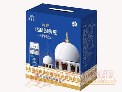 青岛达利园发酵酸奶饮品手提礼盒