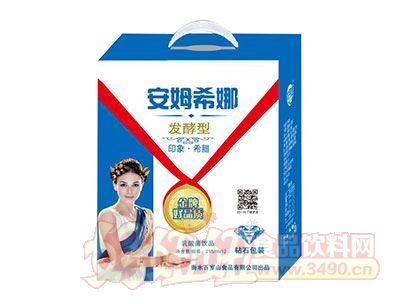 百岁山发酵型安姆希娜乳酸菌饮品215ml×12(钻石包装)