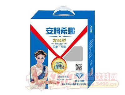百岁山发酵型安姆希娜乳酸菌饮品215ml×12(开天窗钻石包装)