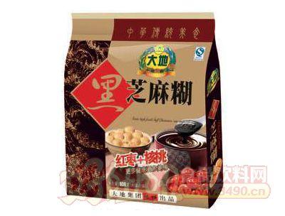 大地红枣+核桃黑芝麻糊
